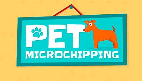 poster for microchipping